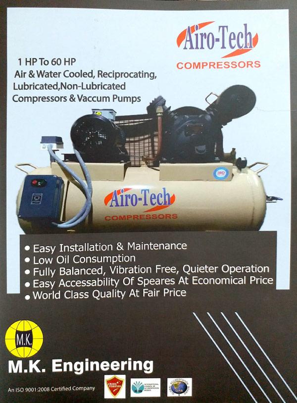 Airo-Tech Compressor Manufacturer in India