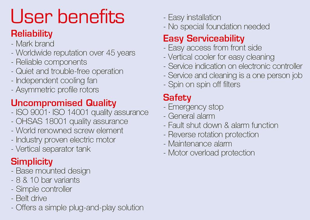 Mark Screw Air Compressor Manufacturer, Supplier and Exporter in Gujarat, India