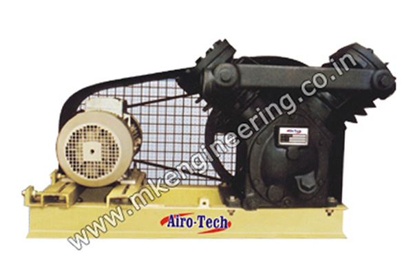 Single Two Stage Dry Vacuum Pump Manufacturer, Supplier and Exporter in Ahmedabad, Gujarat, India