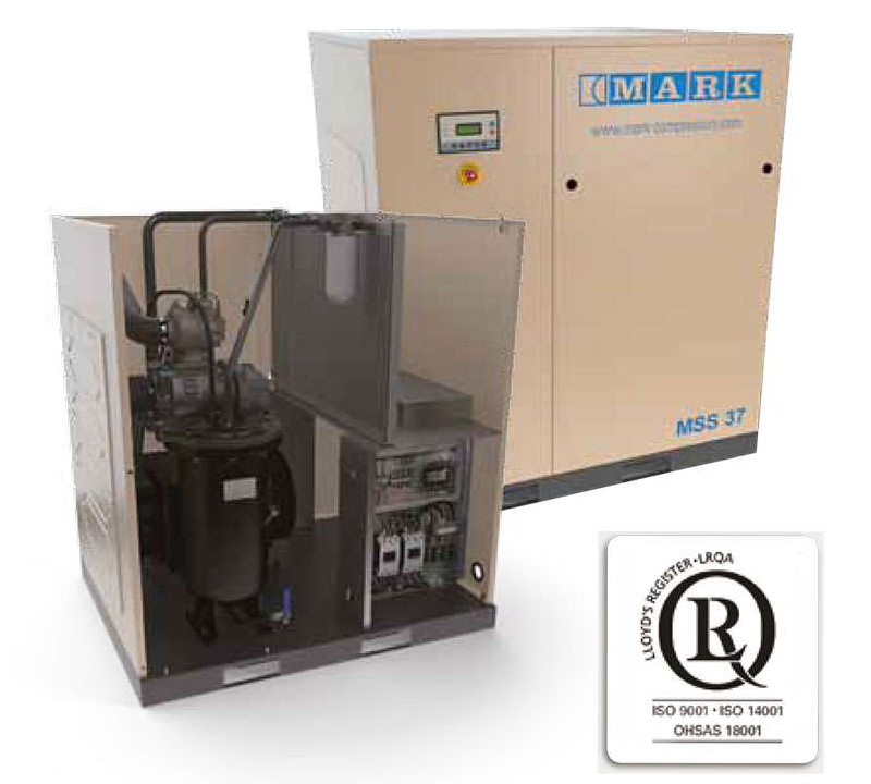 Mark Screw Air Compressor Manufacturer, Supplier and Exporter in Ahmedabad, Gujarat, India