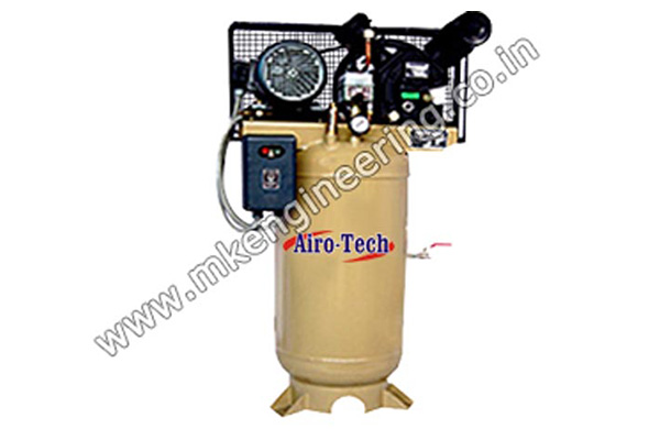 Two Stage Compressor Manufacturer, Supplier and Exporter in Ahmedabad, Gujarat, India